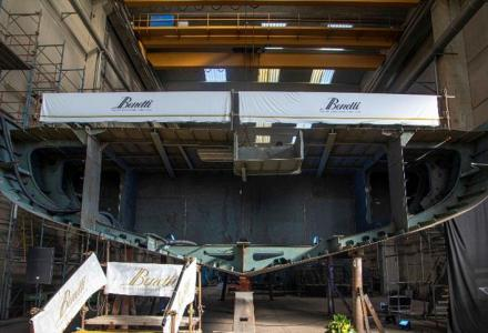 Benetti began construction on 62-meter superyacht FB283