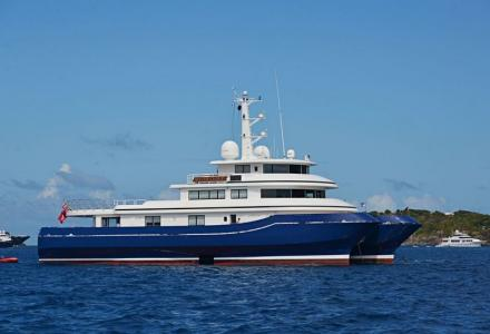41-meter Abeking and Rasmussen catamaran Silver Cloud is sold
