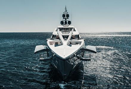 On board Bilgin's new 80-meter Tatiana