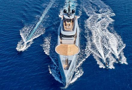 Inside the new 55-meter Admiral yacht Geco