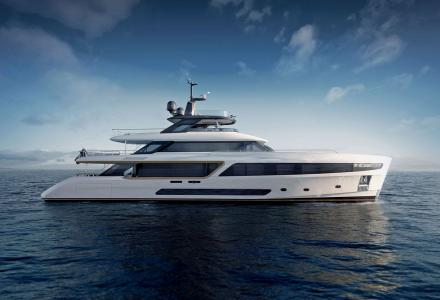 Benetti revealed new 37m yacht design inspired by the 1960s lifestyle Motopanfilo