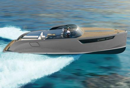 Rush Yachts revealed an Ultra-green superyacht day boat Rush 39