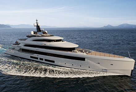 Benetti 67-meter custom yacht FB284 is under construction