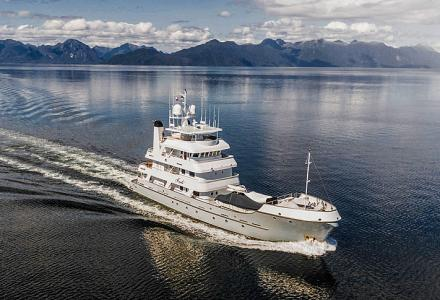 The 43-meter Hike expedition superyacht Marcato has been sold