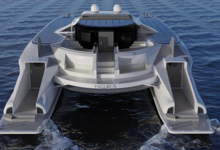 Lazzarini Design Studio Has Announced New a Catamaran Concept