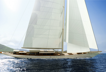 Turquoise Has Announced the New Delivery Date of the 51m Sailing Yacht Rainbow II