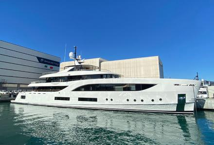 The 54.2m Baglietto Yacht Has Been Delivered To Her New Owner