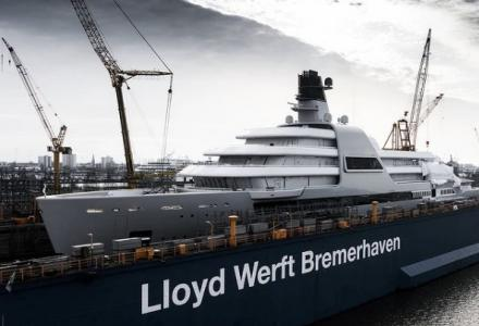 Lloyd Werft Has Launched the yacht Solaris