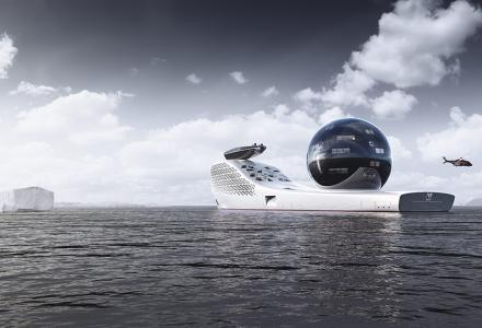 Concept: Iddes Yachts' Exploration Vessel Earth300 With 160 Scientists Onboard