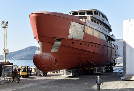Sanlorenzo Is Starting the Construction of the First Unit of the Superyacht 57Steel
