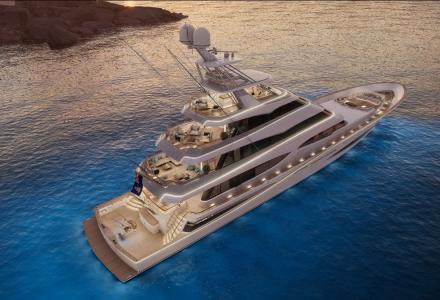 The Most Luxurious True Sportfish Yacht in the World: Vripack Yacht Design and Royal Huisman Have Unveiled the 52m Project 406
