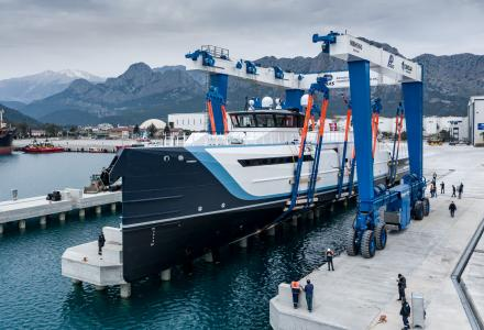 Damen Yachting Has Launched the Support Vessel Time Off