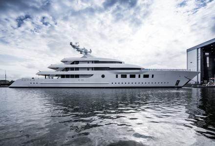Feadship Has Launched the 95m Hybrid Motor Yacht Bliss