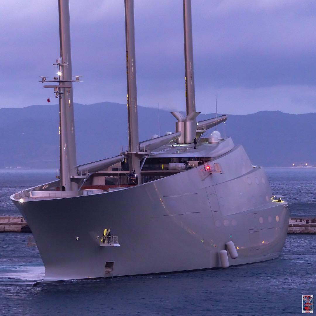 Sleek Superyacht Seized In Gibraltar Over 16 2m Debt Claim