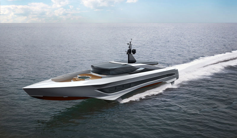 Russian Rocket is a 37-meter foiling superyacht - Yacht Harbour