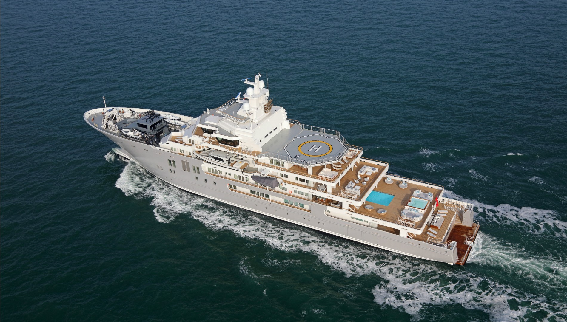 107m Ulysses is now for sale - Yacht Harbour