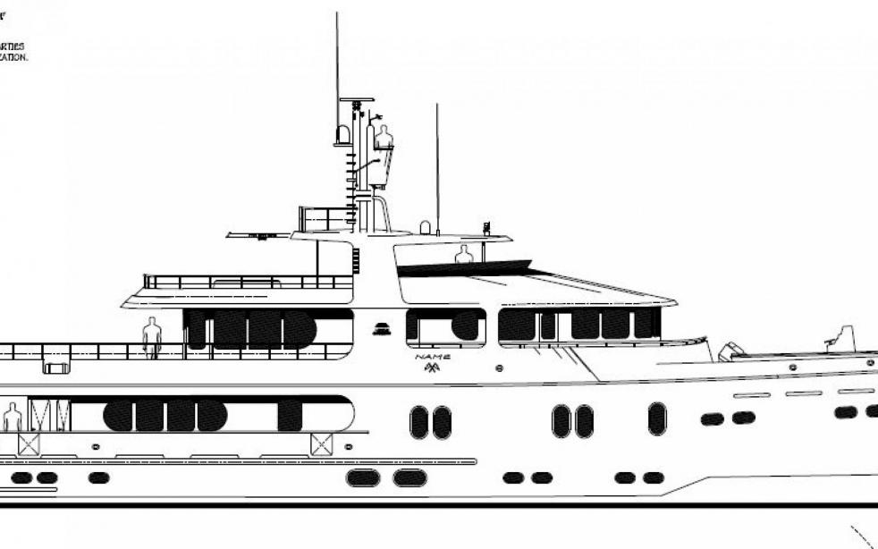 yacht Cape Scott 137