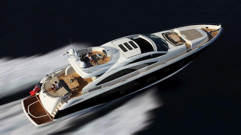 yacht Skyfall United Kingdom
