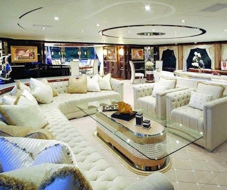 yacht Diamonds are Forever