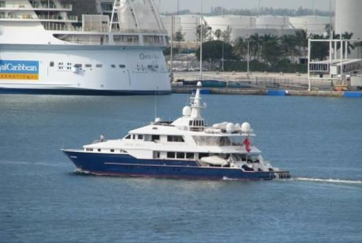 yacht Blue Star