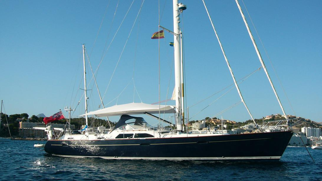 yacht Independence Of Herm