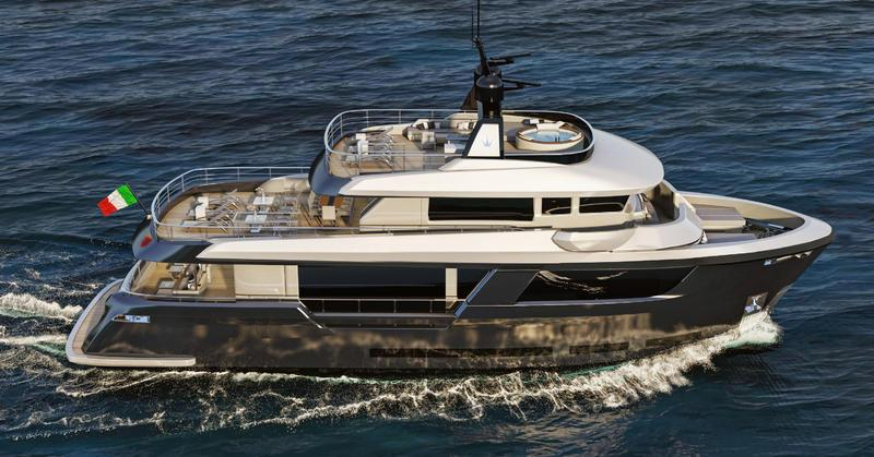 yacht Ocean King New 88 Classic